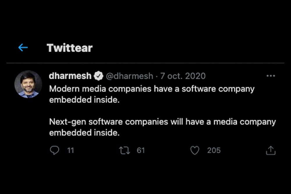 Darmesh Shah - compra de medios por parte de empresas
