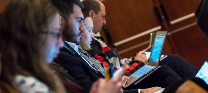 Asistentes al Inbound Marketing Summit 2017