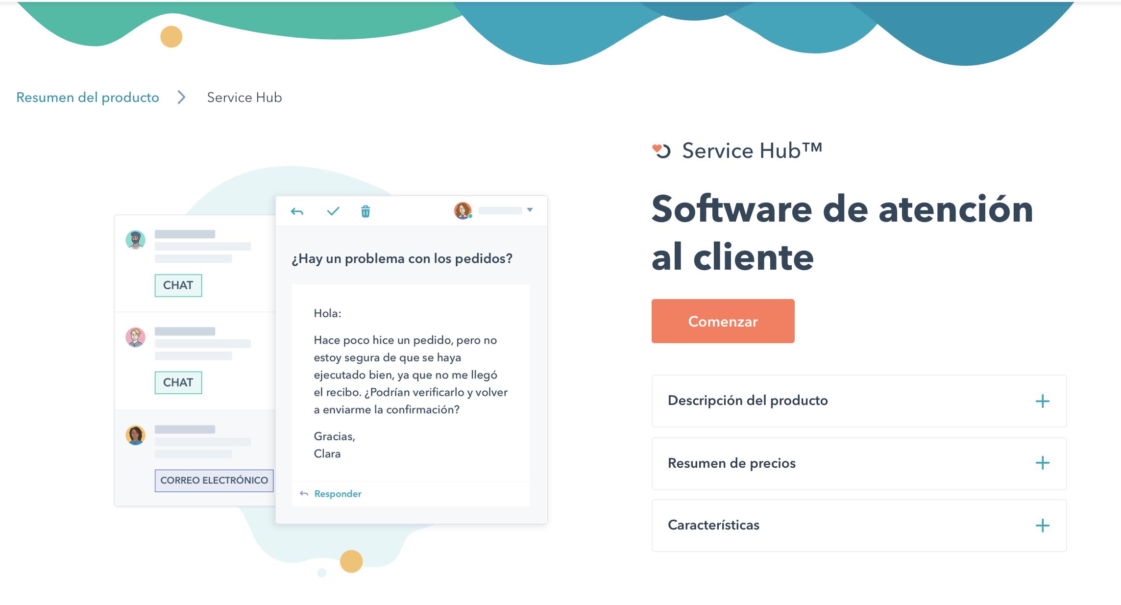 software atención al cliente