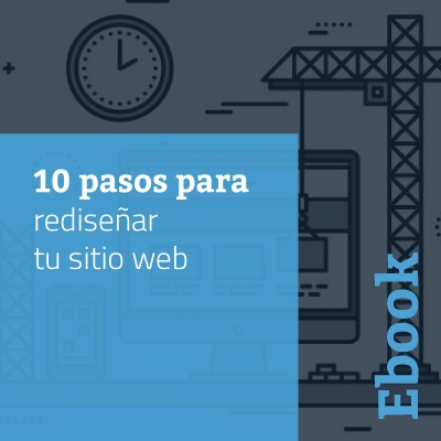 10 pasos para rediseñar tu sitio web